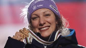 Ilka Stuhec kann wieder auf Schnee trainieren