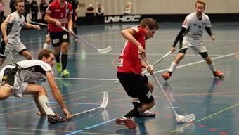 Reto Staudenmann konnte für Basel Regio einen Treffer verbuchen.