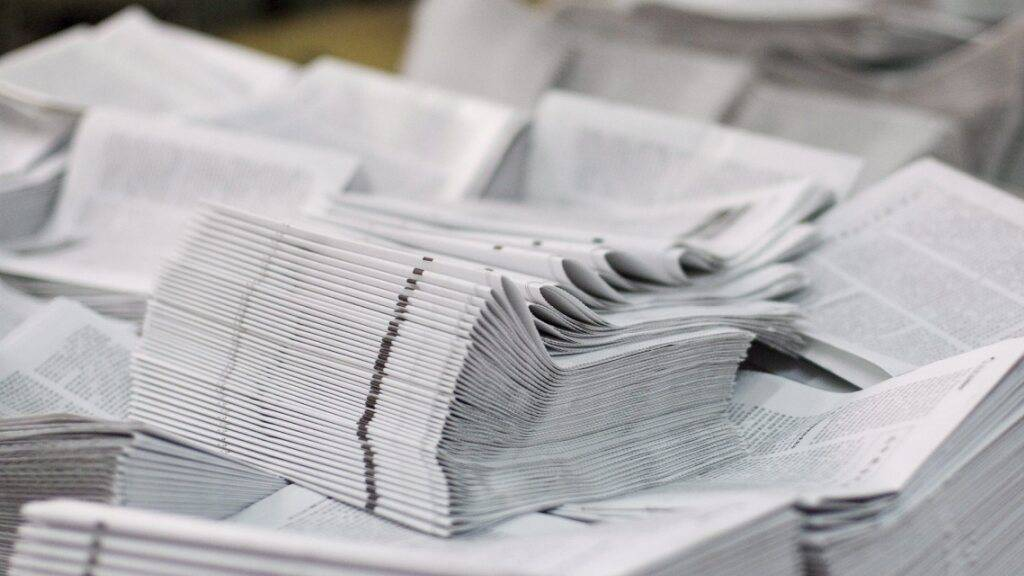 Ausgedruckt: In Sursee LU schliesst die Druckerei der SWS Medien AG Primedia. (Symbolbild)
