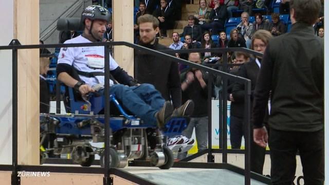 Mit Hightech-Rollstuhl zum Sieg