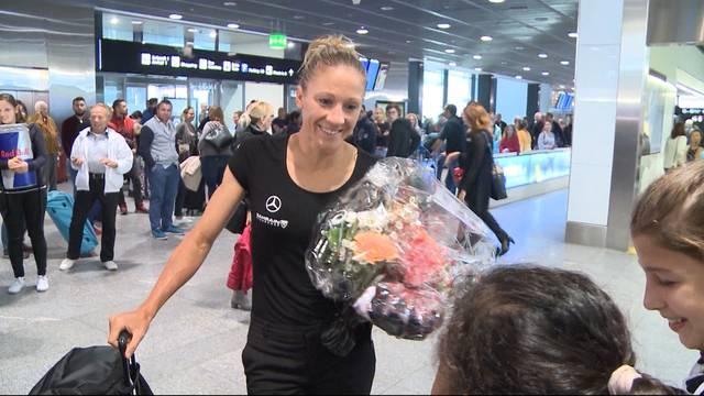 Ironman-Siegerin zurück in Schweiz