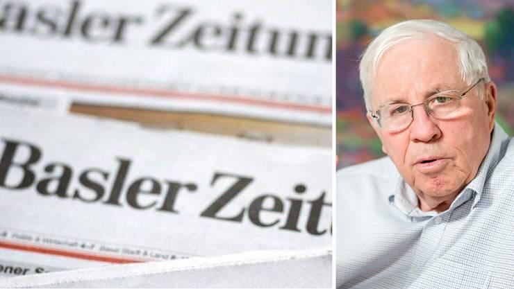 Christoph Blocher verkauft die «Basler Zeitung» an Tamedia.