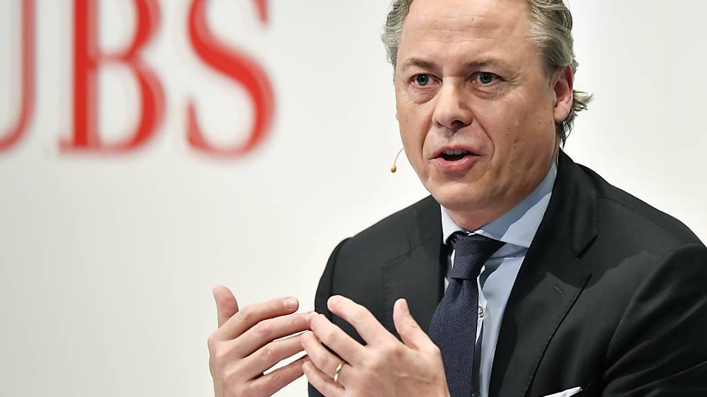 UBS-Chef sieht nur «unwesentliche» Evergrande-Risiken