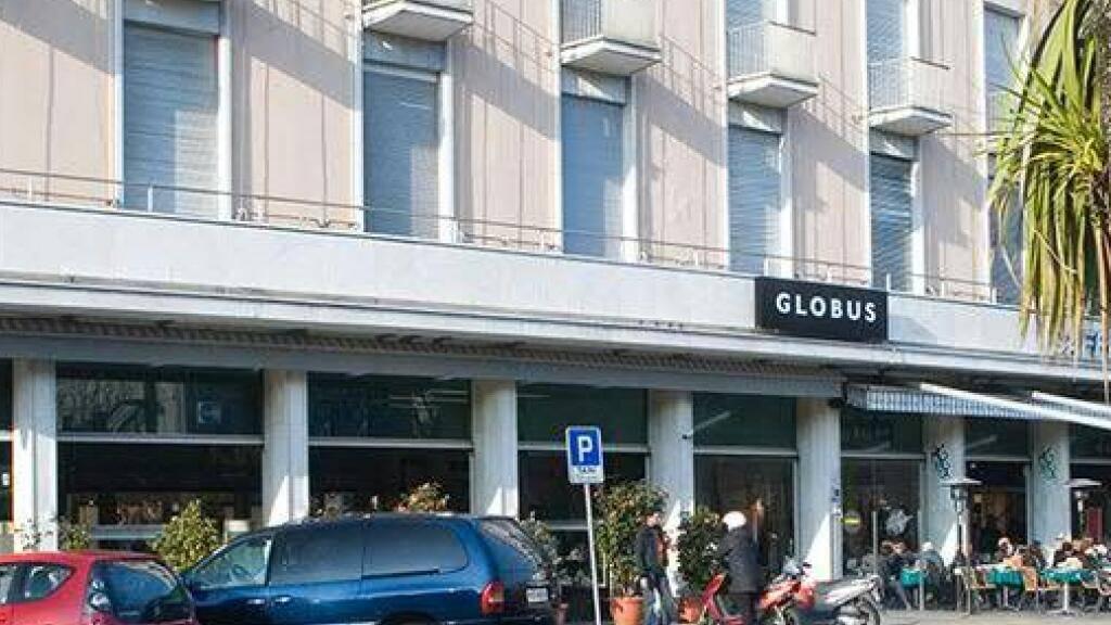 Die Warenhauskette Globus zieht sich aus dem Tessin zurück und schliesst die Filiale in Locarno. 50 Stellen fallen weg.(Bild des Unternehmens)