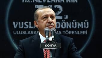 """Die USA verlangen von ihm """"zusätzliche Schritte"""", um die Lage im Irak zu beruhigen: Recep Tayyip Erdogan (Archivbild)"""