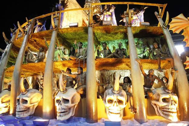 Karneval in Rio: Der pure Wahnsinn.