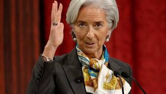 Die IWF-Chefin Christine Lagarde spricht in New York klare Worte