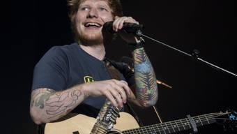 Mit James Blunt die Pisten Verbiers unsicher machen - ein Vergnügen für Ed Sheeran. (Archivbild)