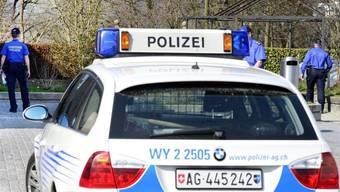 Die Aargauer Kantonspolizei war in der Nacht auf Freitag im Einsatz. (Archiv)