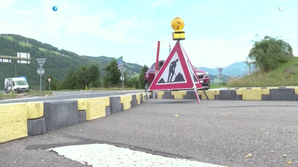 Kreisel in Stans wird wieder zurückgebaut