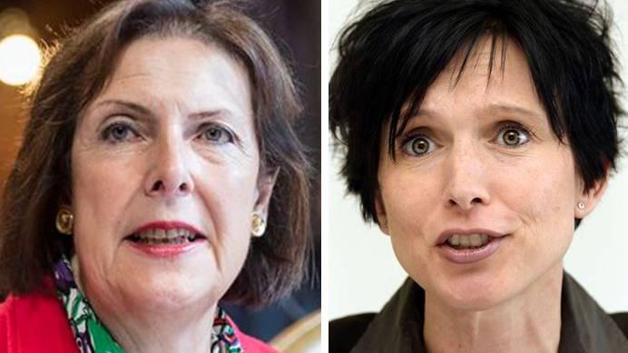 Christine Egerszegi (l.) und Pascale Bruderer.
