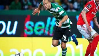 Topskorer Bas Dost will nach den Fan-Attacken aus Lissabon weg (Archiv)