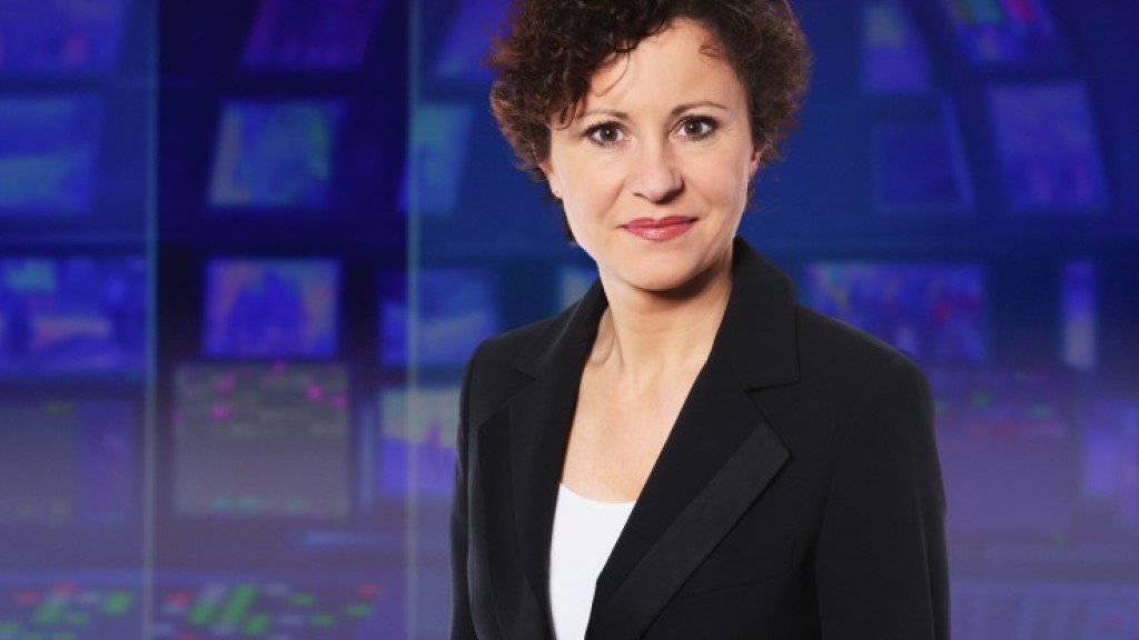 Die frühere «Tagesschau»-Moderatorin Beatrice Müller will Frauen Mut machen, sich mehr zu exponieren. (Archivbild SRF)