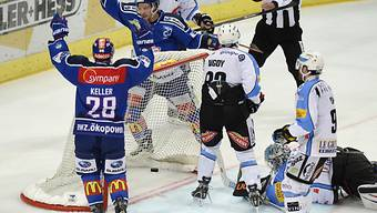 Die ZSC Lions jubeln - Fribourg Gotteron verliert erneut
