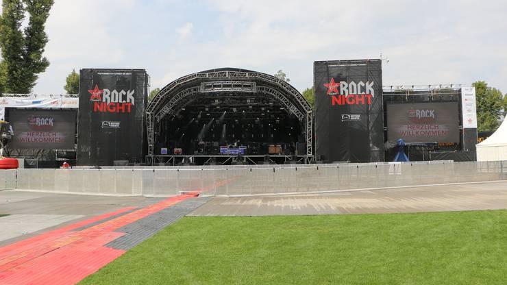 Die grosse Bühne der Virgin Radio Rock Night