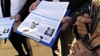 Unterschriften-Sammler müssen auch auf Fristen achten (Symbolbild)