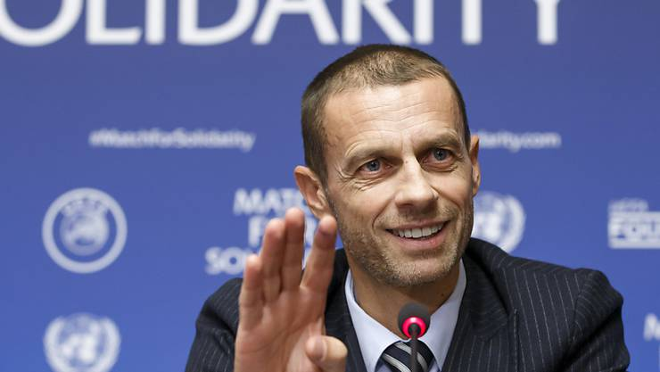 UEFA-Präsident Aleksander Ceferin meldet einen Gesamtgewinn der europäischen Topliga-Klubs