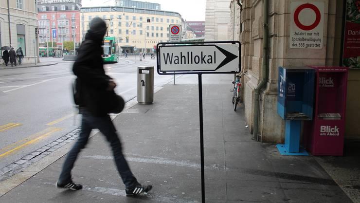 Basel-Stadt geht heute in den zweiten Wahlgang.