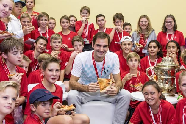 Titelverteidiger Roger Federer will sein Heimturnier 2018 zum neunten Mal gewinnen.