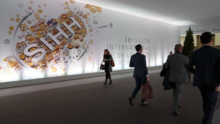 Wegen des Coronavirus ist am Donnerstag auch der Genfer Uhrensalon abgesagt worden. Quelle: KEYSTONE Fotograf: SALVATORE DI NOLFI Restriktionen: © KEYSTONE / SALVATORE DI NOLFI