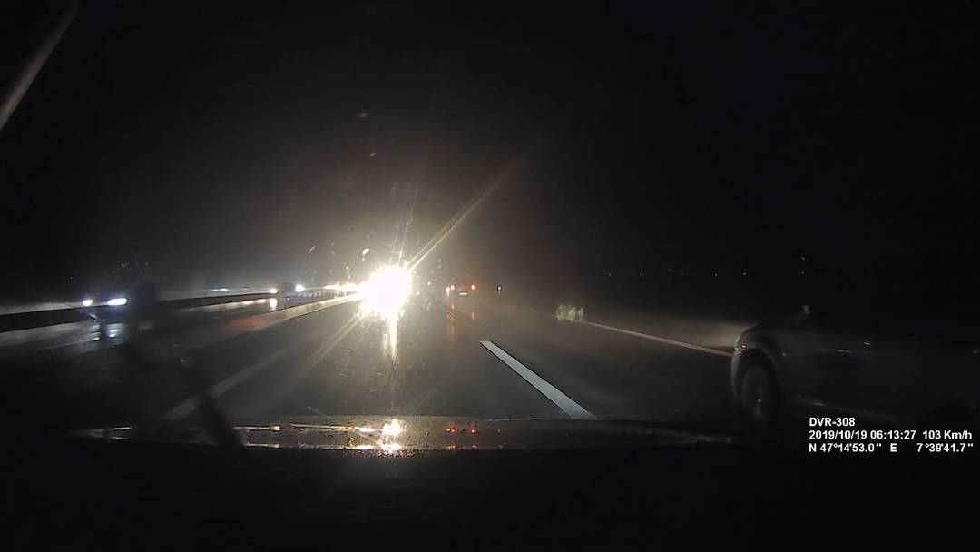 Geisterfahrer auf der A1: Jetzt ist ein Video aufgetaucht