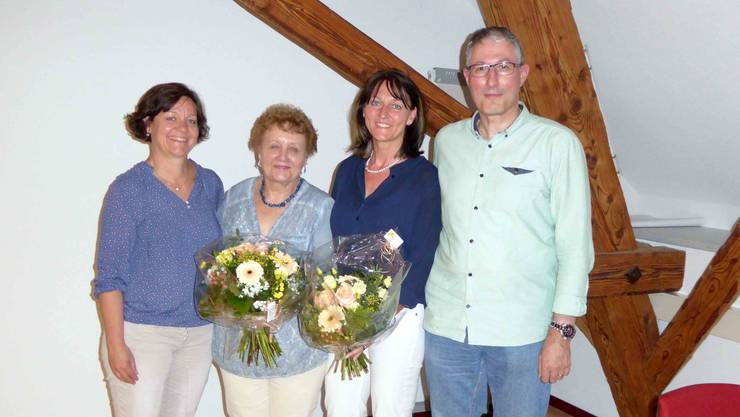 Wolf Esther, Rüede Erika, Erni Brigitte, Hofmann Christoph (vLnR)