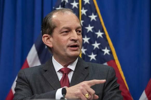 Musste zurücktreten: Arbeitsminister Alex Acosta.