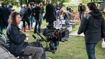 Bestatter-Dreharbeiten für die dritte Staffel in Aarau