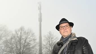 Filippo Guizzardi hat auch eine Sammeleinsprache gegen den Antennenausbau beim Rastplatz Eggberg eingereicht.