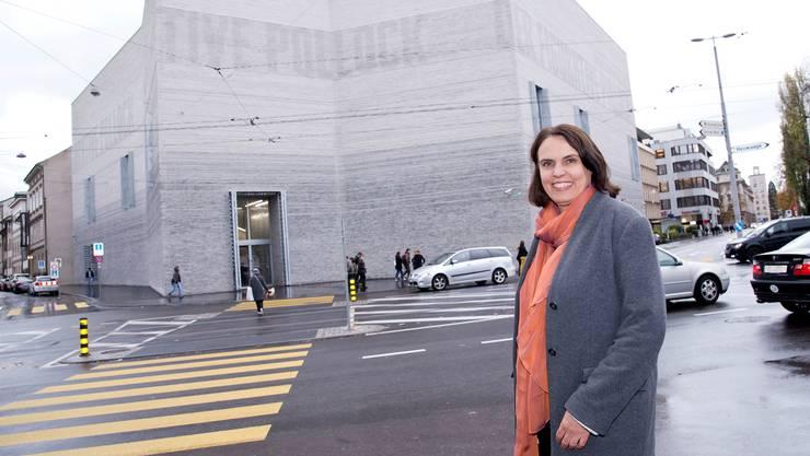 Regierungspräsidentin Elisabeth Ackermann will nicht von einer Museums-Krise sprechen. Das sehen viele anders.