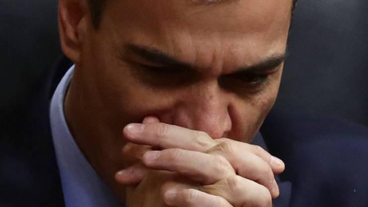 Nachdem das Parlament den Haushaltsentwurf abgelehnt hat, wird Ministerpräsidenten Sánchez die Wahlen wohl vorziehen müssen.