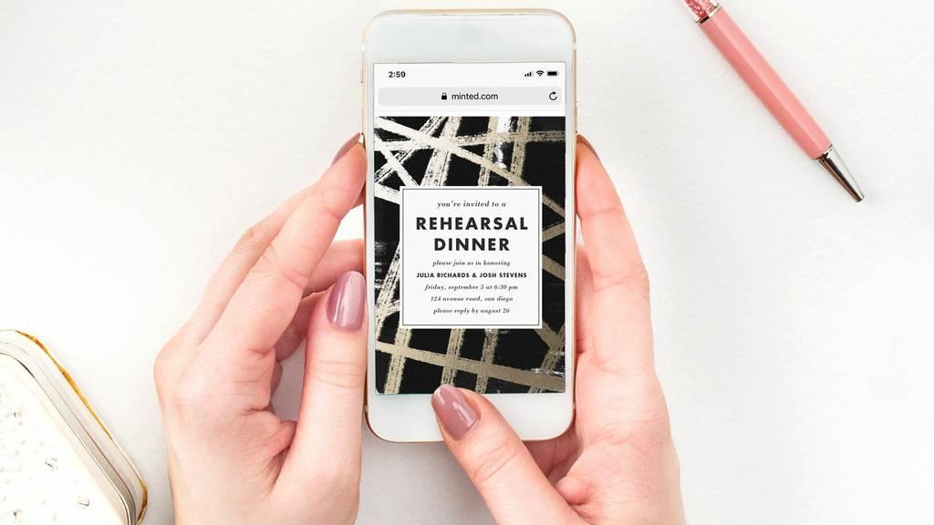 Digital: Paperless Post Invitations