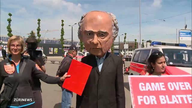 Demos überschatten FIFA-Kongress
