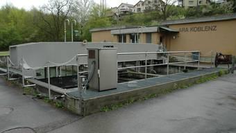 Die alte ARA Koblenz wird zum Teil abgebrochen (mhu)