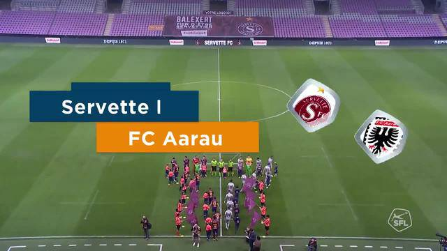 Challenge League 2018/19, Runde 11, Servette - FC Aarau, Highlights