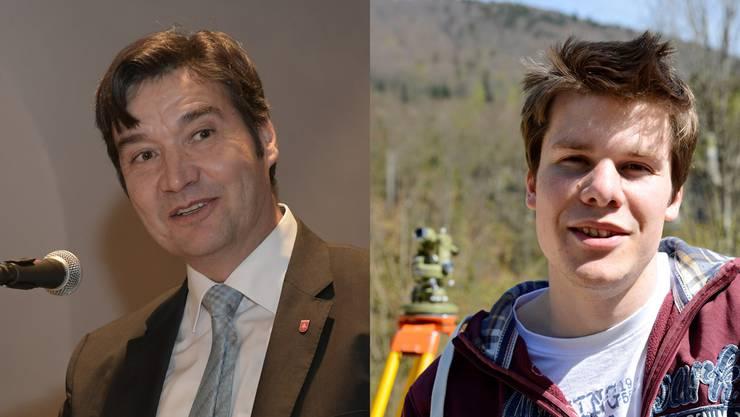 François Scheidegger und Elias Meier treten gegeneinander an.