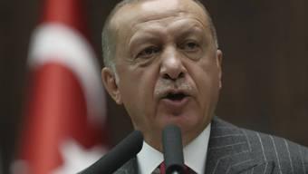 Schnell beleidigt und seit der Wirtschaftskrise immer dünnhäutiger: der türkische Präsident Recep Tayyip Erdogan (in einer Aufnahme vom 7. Mai in Ankara).
