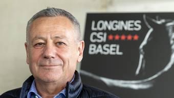 Andy Kistler wird ab Februar das Amt des Präsidenten des CSI Basel übernehmen.
