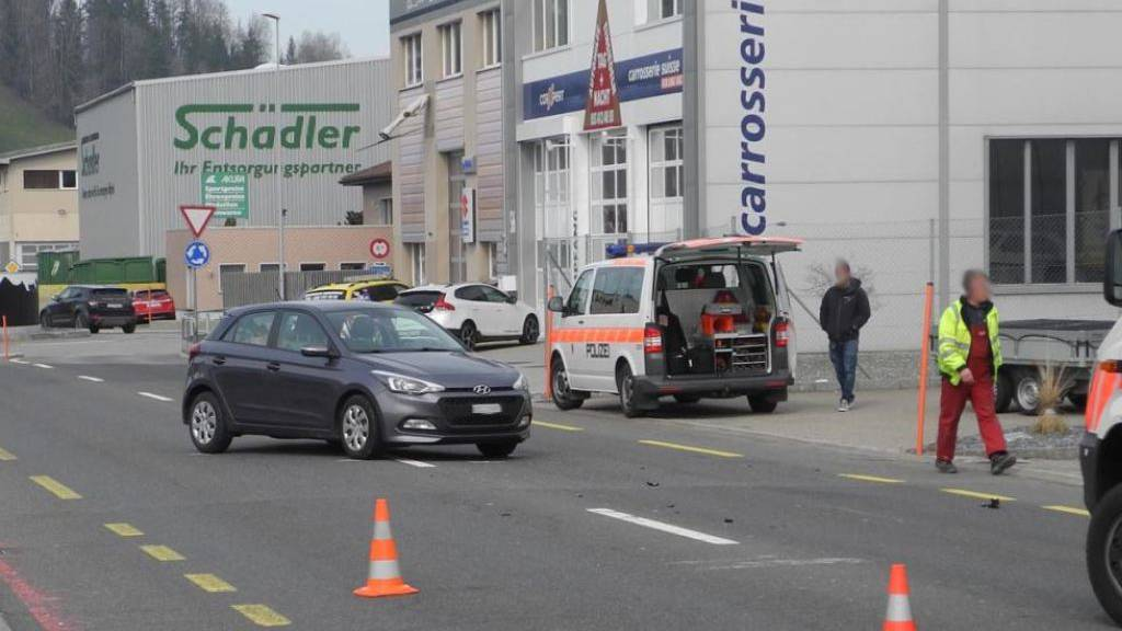 Motorradfahrer bei Unfall verletzt