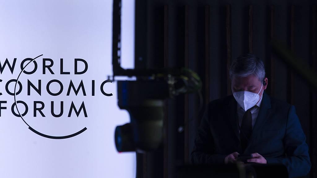 Das WEF wird 2022 wieder in Davos ausgetragen.