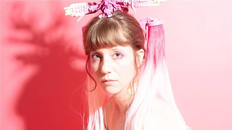 Anna Aaron tauft am Freitag ihr neues Album in Basel. (zvg)