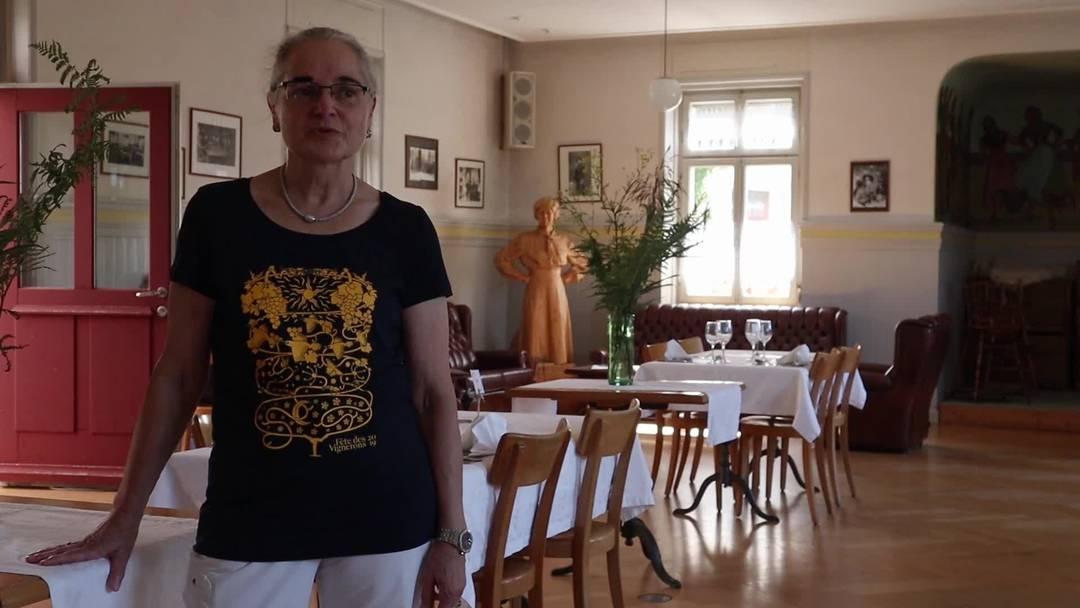 "Rundgang Hotel ""La Petite Gilberte"" in Courgenay"