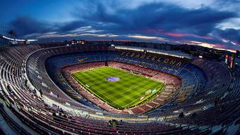 Das Camp Nou aus der Vogelperspektive.