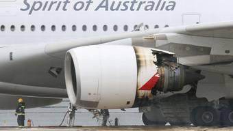 A380-Flieger von Qantas muss in Singapur notlanden