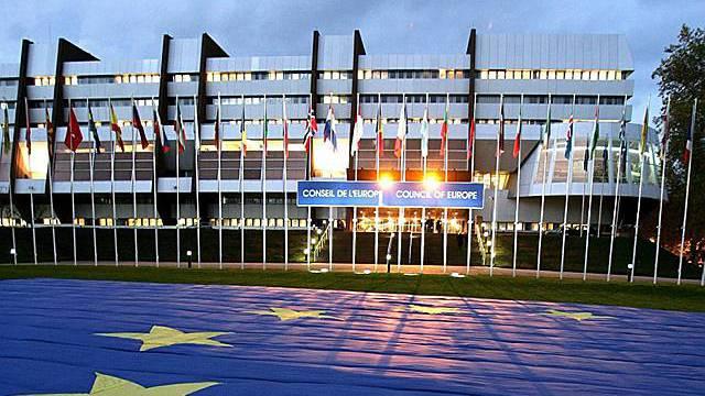 Europarats-Gebäude in Strassburg (Symbolbild)