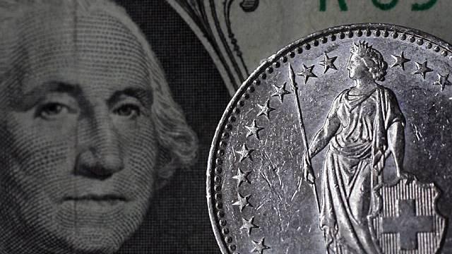 Dollar war zeitweise nur noch 92 Rappen wert (Symbolbild)