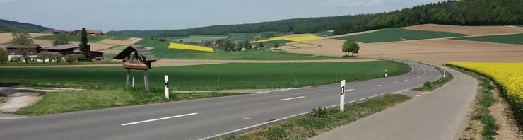 Die Felder sind bestellt im Bachsertäli