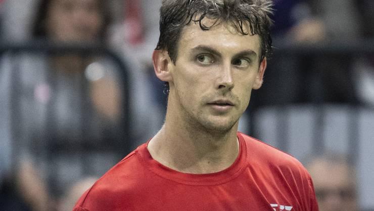 In Houston erfolgreich unterwegs: der Schweizer Tennisprofi Henri Laaksonen