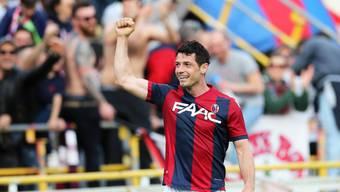 Jubelt bald nicht mehr im Dress von Bologna, sondern in demjenigen der Montreal Impact: Blerim Dzemaili