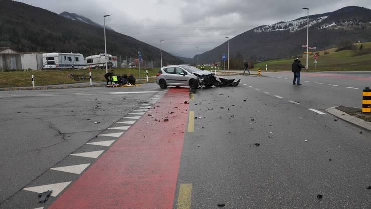 Am Dienstag kam es auf der Thalstrasse in Aedermannsdorf zu einem Unfall.